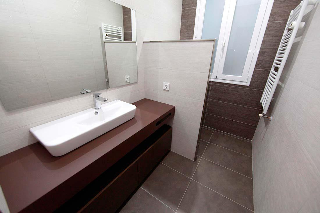Vista del baño secundario