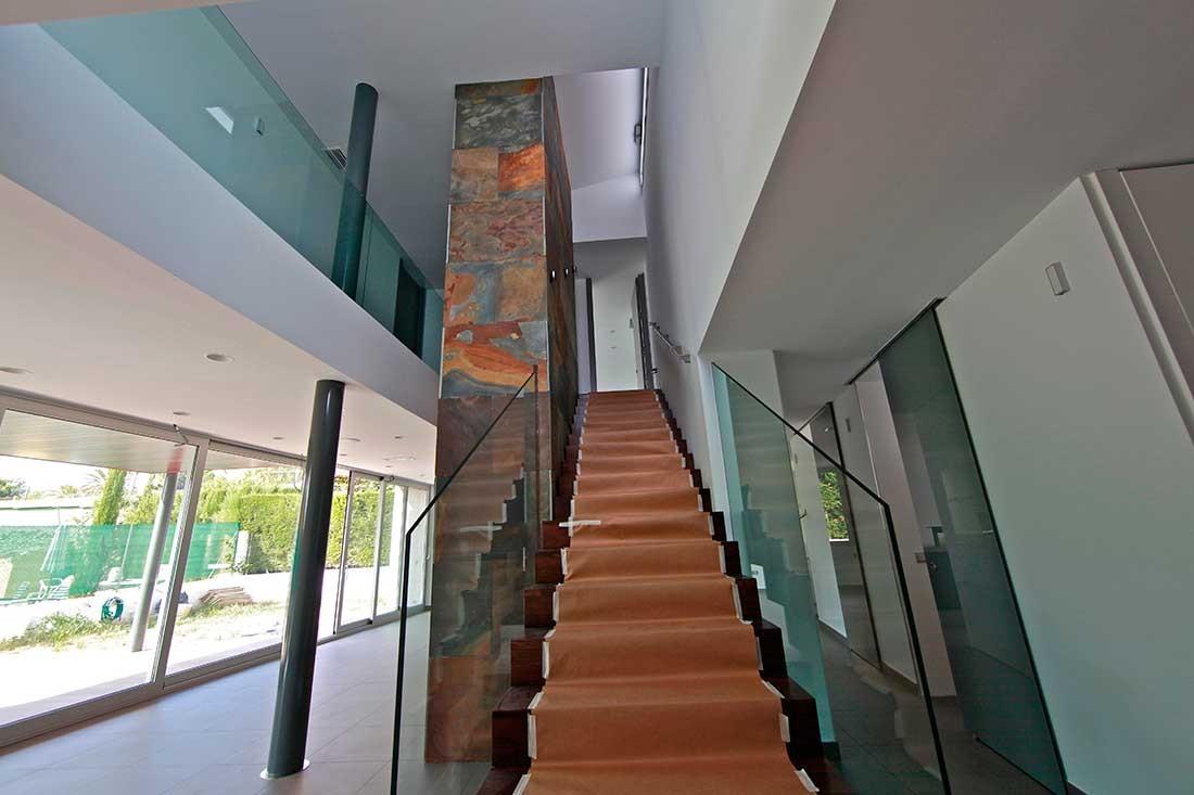 Escaleta interior de la vivienda