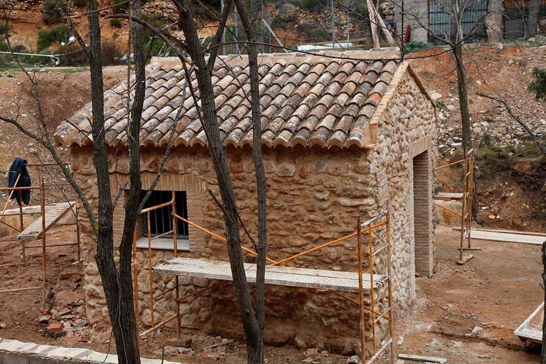 Reconstrucción de cubiertas y restauración